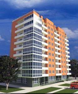 10-ти-этажный-многоквартирный-жилой-дом-со-встроенными-помещениями-общественного-назначения-по-ул.-Орджоникидзе,-1-107-в-г.-Батайске